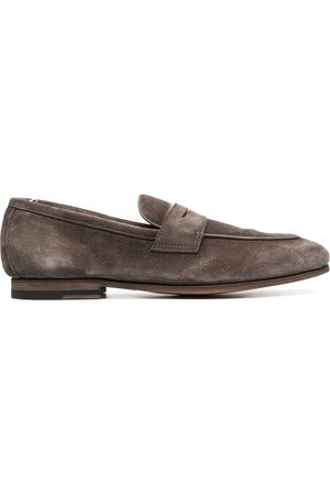 Officine creative Barona leather loafers - Grey