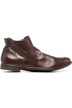 Officine Creative Arc leather ankle boots
