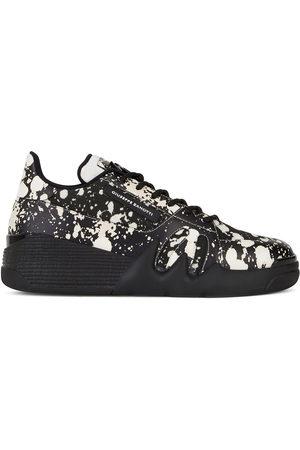 Giuseppe Zanotti Men Sneakers - Paint splatter print sneakers