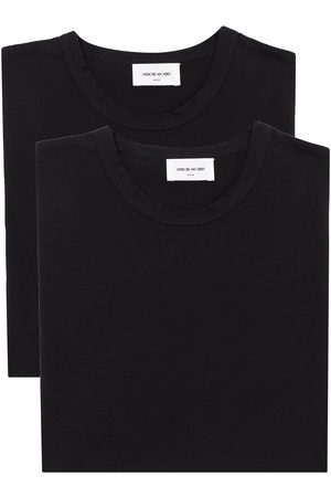 WoodWood Men T-shirts - Allen cotton set of two T-shirts