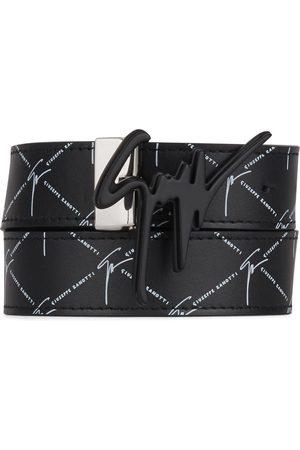 Giuseppe Zanotti Men Belts - Logo buckle belt