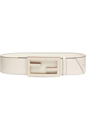 Fendi Women Belts - FF-buckle belt