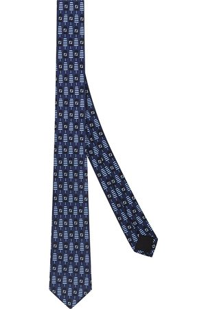 Fendi Men Bow Ties - FF popsicle print necktie