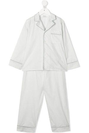 Bonpoint Boys Pajamas - Pinstripe pyjama set