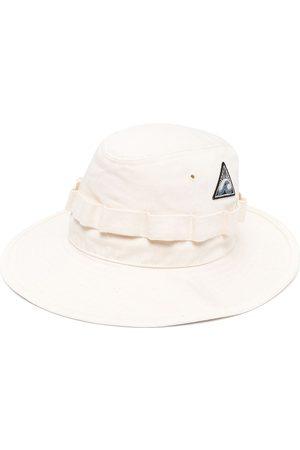 Jil Sander Logo-patch sun hat - Neutrals