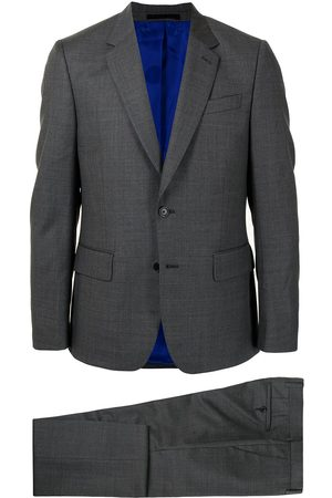 Paul Smith Men Suits - Single-breasted wool slim-fit suit - Grey