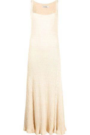 Anna Quan Dido sleeveless fitted dress - Neutrals