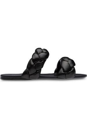 Miu Miu Woven flat sandals