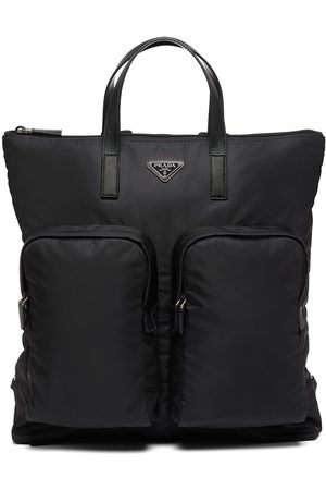 Prada Triangle-logo backpack