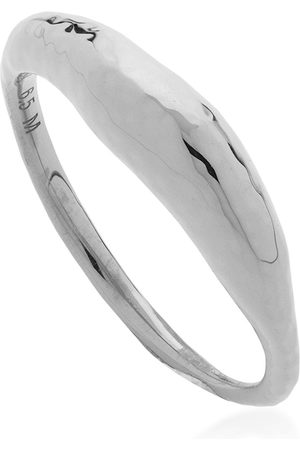 Monica Vinader Women Rings - Dea hammered-effect ring