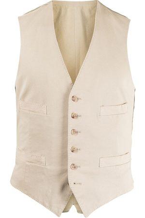 Polo Ralph Lauren Men Waistcoats - Single-breasted waistcoat - Neutrals