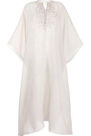 SHATHA ESSA Women Beach Dresses - Embroidered long-length kaftan