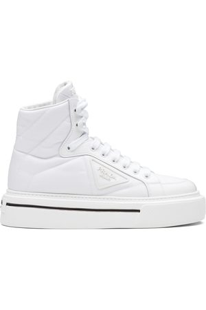 Prada High-top lace-up sneakers