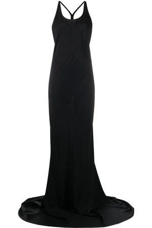 ANN DEMEULEMEESTER Women Party Dresses - Halterneck floor-length dress