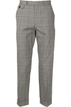 SONGZIO Check tailored trousers