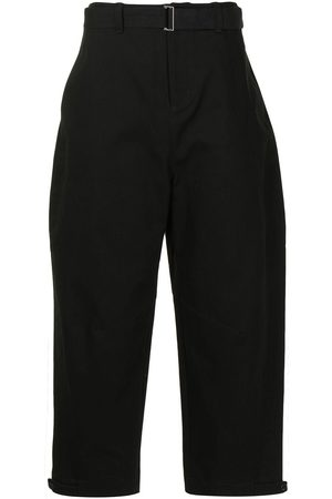 SONGZIO Belted wide-leg trousers