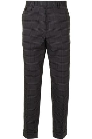 SONGZIO Formal Pants - Check tailored trousers - Grey
