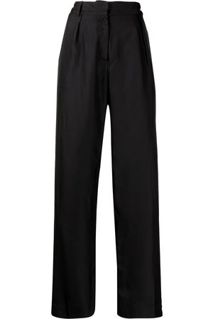 Bondi Born Women Formal Pants - Palisades silk tailored trousers