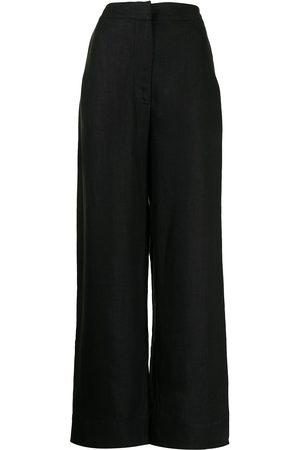 Bondi Born Women Straight Leg Pants - High-waisted straight-leg trousers