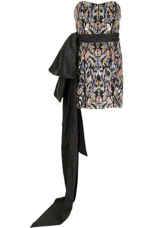Semsem Women Party Dresses - Sequin-embellished bustier mini dress