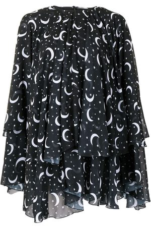 Semsem X Ramadan moon and star print kaftan top