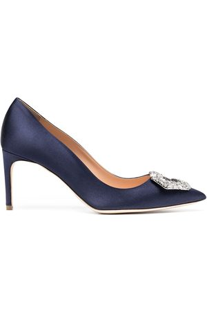 Rupert Sanderson Embellished pointed pumps
