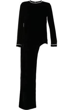 Semsem Women Blouses - X Ramadan crystal-embellished velvet blouse