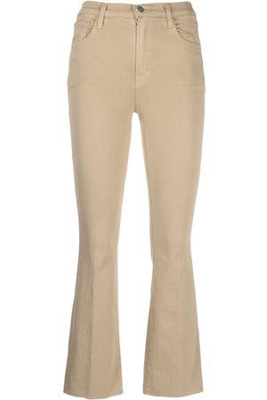 J Brand Alma cropped jeans - Neutrals
