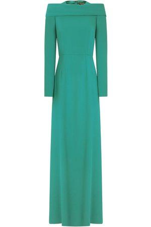 Dolce & Gabbana Women Evening dresses - Long-sleeve floor-length dress