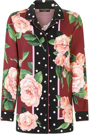 Dolce & Gabbana Women Shirts - Printed silk shirt
