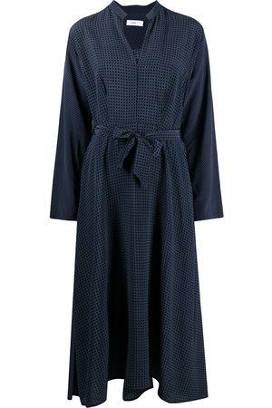 Closed Geometric-print midi dress