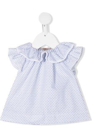 LA STUPENDERIA Ruffle-trim blouse