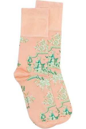 Simone Rocha Printed ankle-length socks