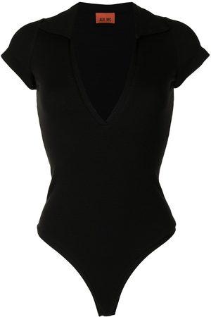 Alix NYC V-neck short-sleeved bodysuit