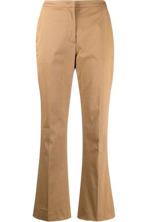 Aspesi Women Wide Leg Pants - Cropped kick-flare trousers - Neutrals