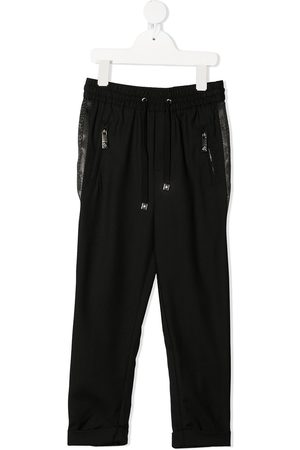 John Richmond Junior Logo tape track pants