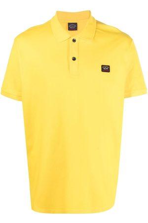 Paul & Shark Patch-embellished polo shirt