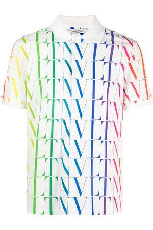 Valentino VLTN-print polo shirt