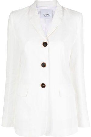 ERIKA CAVALLINI Single-breasted tailored blazer