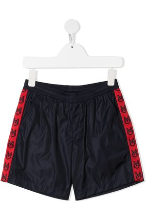 Moncler Logo-band running shorts