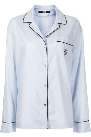 Karl Lagerfeld Women Pajamas - Embroidered-logo pyjama set