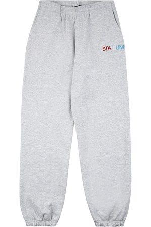 Stadium Goods Sweatpants - STADIUM Flag track pants - Grey