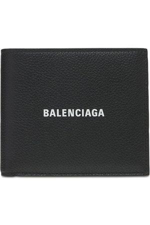 Balenciaga Men Wallets - Logo Leather Wallet