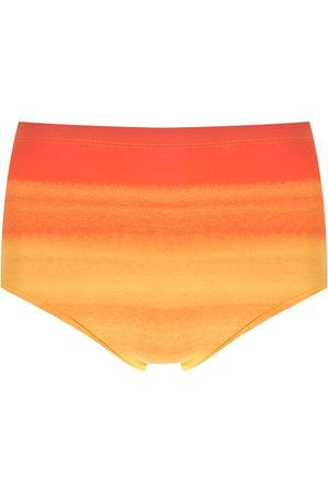 AMIR SLAMA Tie-dye gradient swimming trunks
