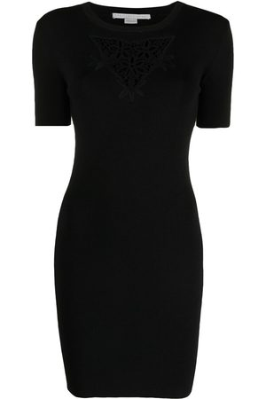 Stella McCartney Embroidered chest mini dress