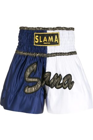 AMIR SLAMA Embroidery Luta shorts