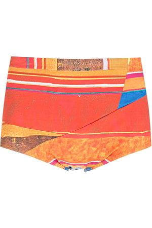 Amir Slama Men Swim Shorts - Striped panels swimming trunks