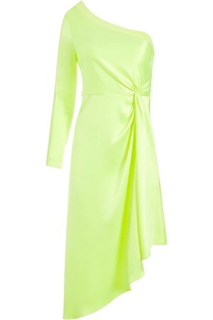 ALICE+OLIVIA Dora one-shoulder asymmetrical dress
