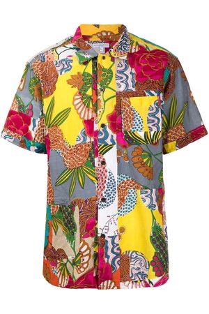 ENGINEERED GARMENTS Patchwork-print cotton shirt - Multicolour