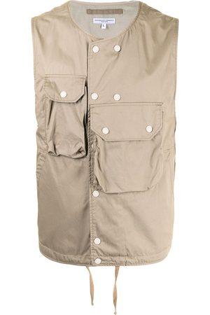 ENGINEERED GARMENTS Flap-pocket cover vest
